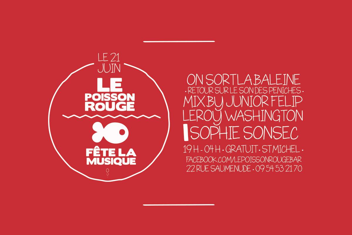 LE POISSON ROUGE ı Artwork propal ı Bordeaux