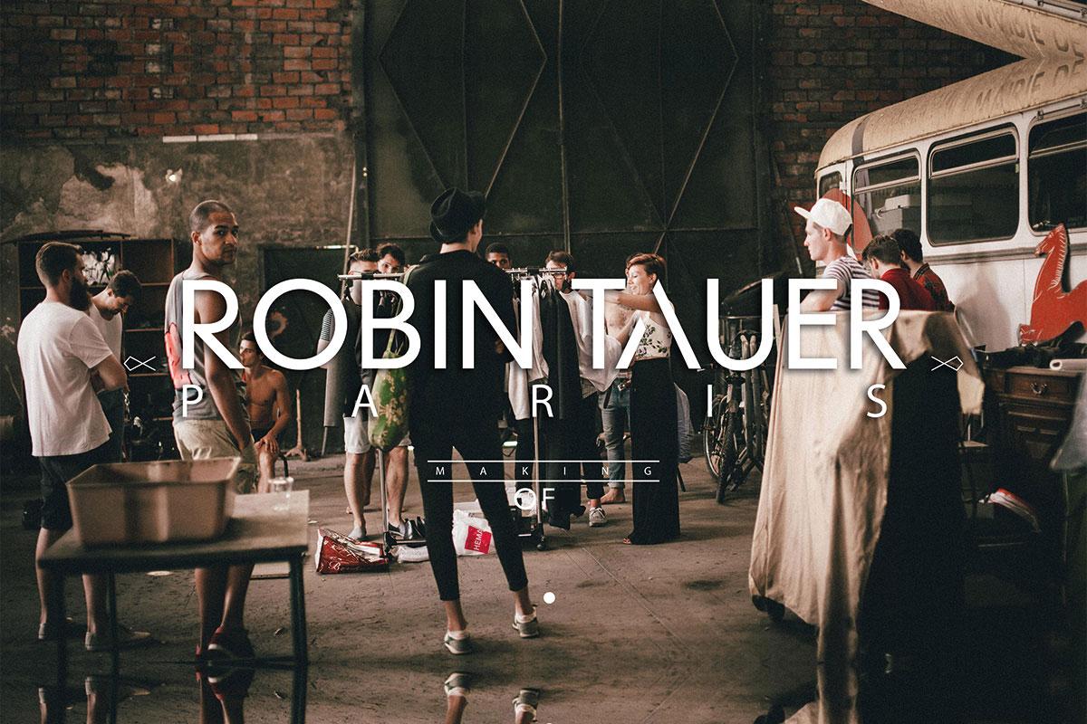 ROBIN TAUER ı Shooting Making Of ı Bordeaux