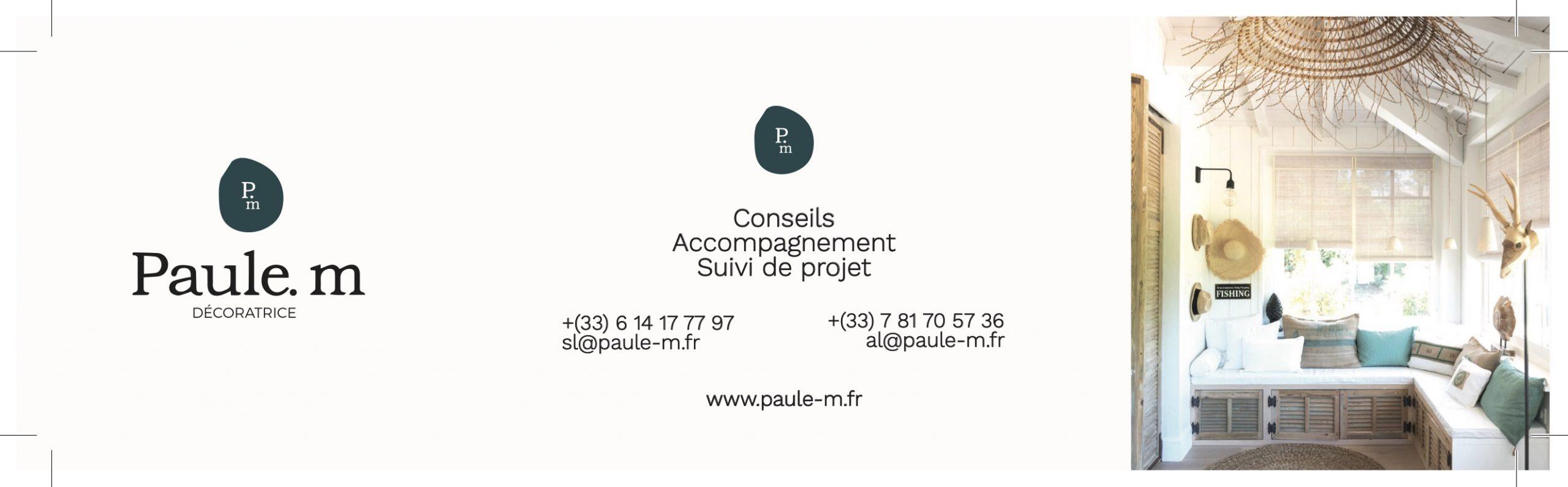 PAULE-M · LOGO · CDV · WEBSITE
